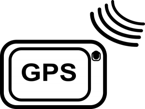 Smartphone mit GPS Tracking
